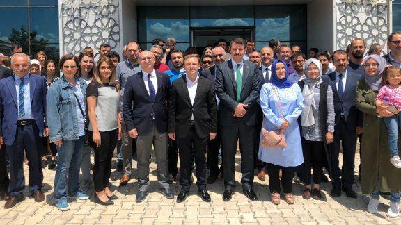 Genel Müdürümüz Sayın Salih AYHAN Sivas ilinde ziyaretlerde bulunarak eğitim öğretim faaliyetlerini yerinde inceledi.