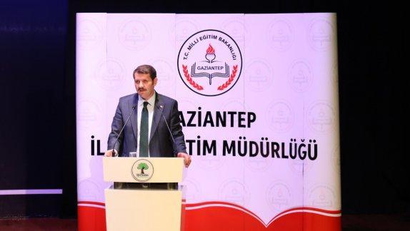 Genel Müdürümüz Sayın Salih AYHAN Gaziantep ilinde düzenlenen 2018-2019 Eğitim Öğretim Yılı sene başı