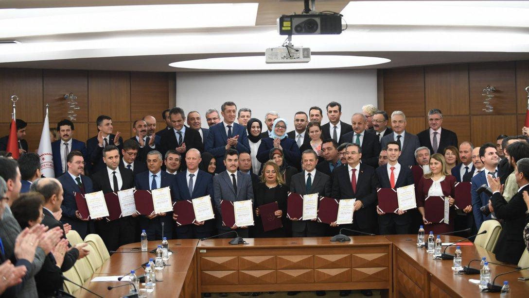İş Sağlığı ve Güvenliğinin Eğitime Entegrasyonu Protokolü İmzalandı.