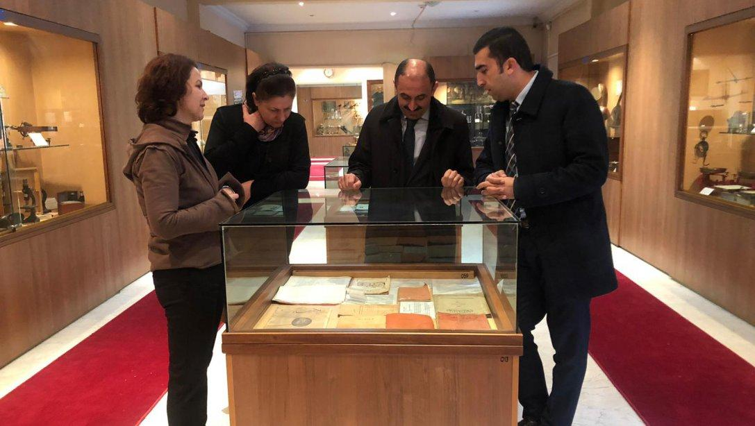 Genel Müdürümüz Sayın İsmail ÇOLAK Genel Müdürlüğümüze bağlı müzeleri ziyaret etti.